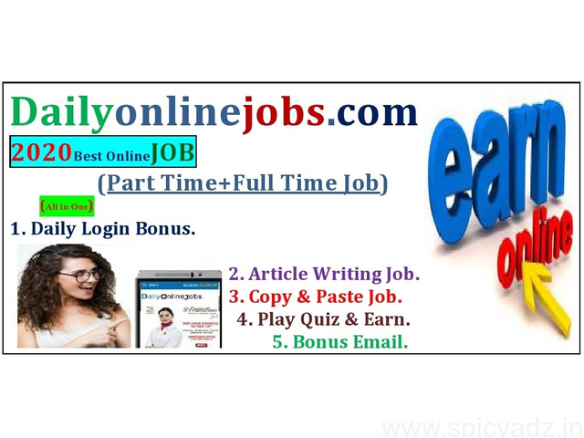 We are Hiring - Earn Rs.15000/- Per month - Simple Copy Paste Jobs - 1