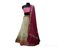 Shop Gota Patti Lehengas Online In India at Luxrionworld