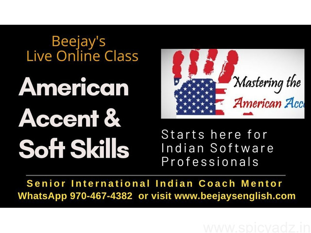 American Accent Training with One Tutor for One Person Exclusivity - 1