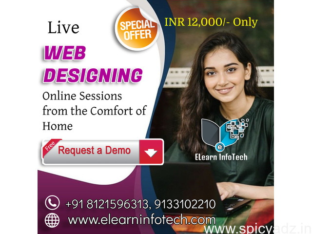 Web Designing Course Online Training in Hyderabad - 1