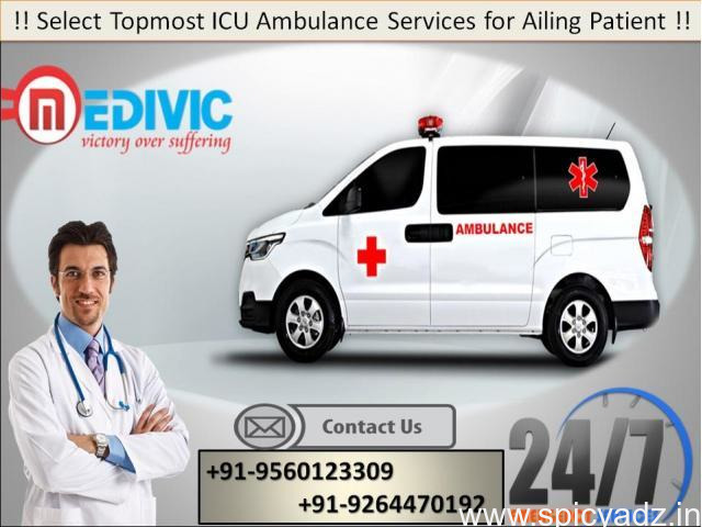 Use Leading Ambulance Service in Purnia at an Authentic Price - 1
