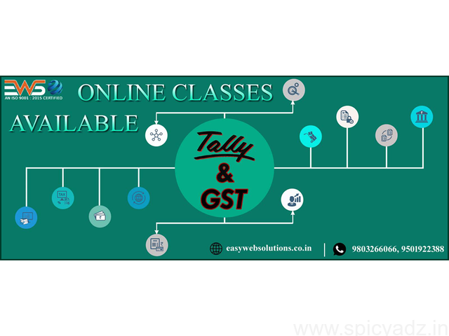 Tally With GST Online Training Classes Available - 1
