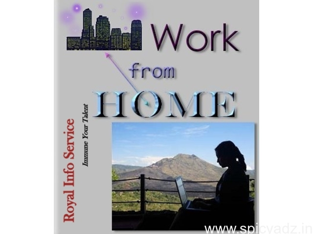 Home Based job Opportunities - 1
