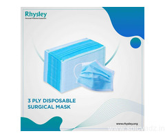 Disposable 3-Layer Protective Face mask/Surgical mask