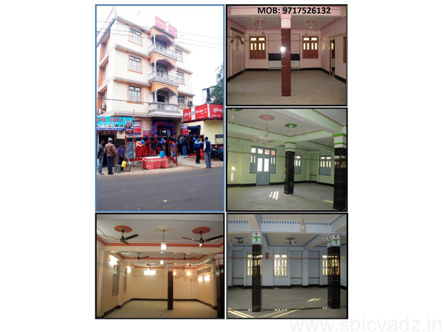 2000 SQ. FT.  COMMERCIAL SPACE MUZAFFARPUR BIHAR AVAILABLE - 1