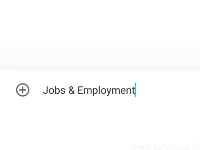 Jobs and Employment - 1