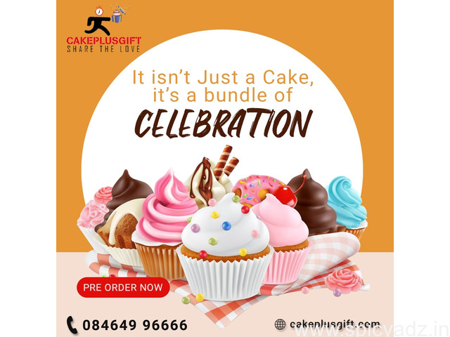 Midnight cake delivery in Hyderabad | Cakeplusgift - 1