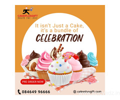 Midnight cake delivery in Hyderabad | Cakeplusgift