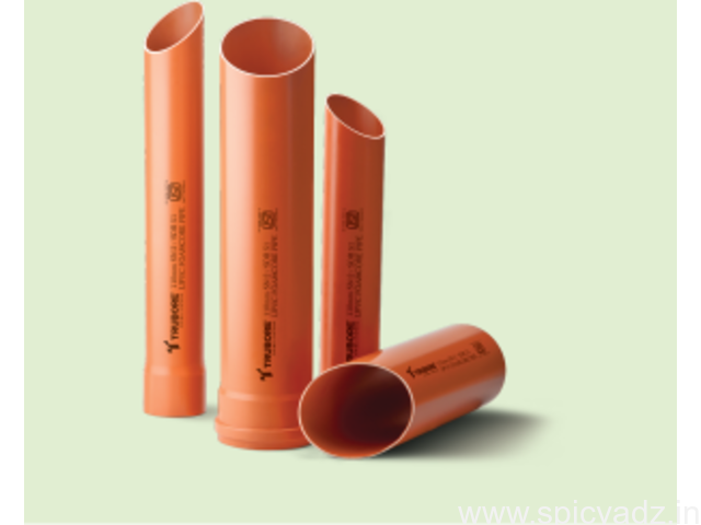 Foam Core Pipes and Fittings in India Trubore Pipes - 1