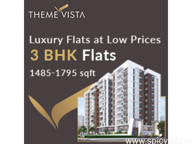 3 BHK Apartments & Flats For Sale In Attapur Hyderabad - 1
