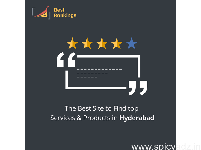 Best Review Sites for Companies & More In Hyderabad | Best Rankings - 1