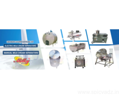 Cream Separator Machine Manufacturer, Milky Cream Separator