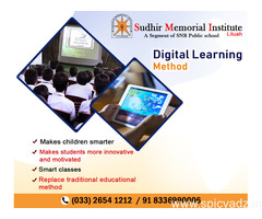 Digital learning method in best cbse school howrah