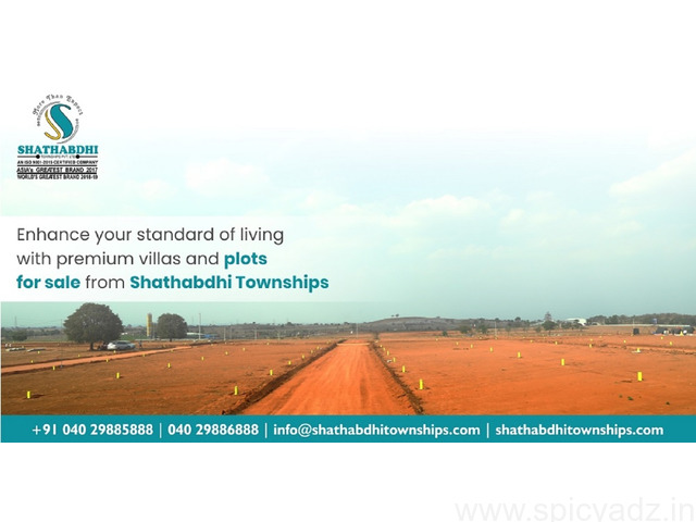 Best Real Estate Company In Hyderabad - Shathabdhi Townships - 1