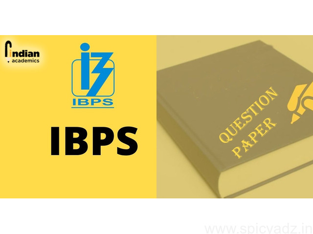 IBPS PO Previous Year Question Papers | IBPS PO Previous Papers - 1