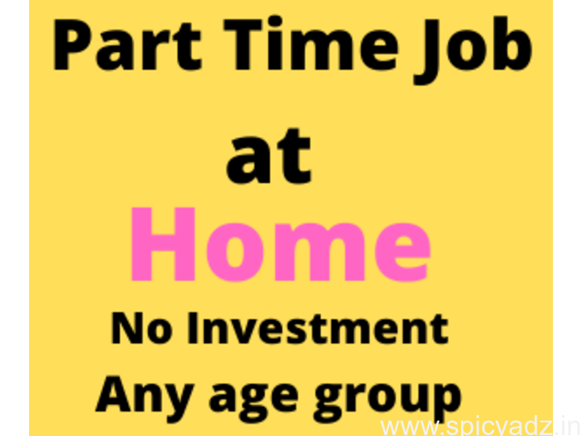 Excellent Opportunity to Earn From Home - Govt Reg Part Time Jobs - Work From Home - 90433 80999 - 1