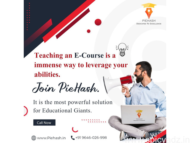 PieHash Online Education Platform - Come Here to Teach Online - 1