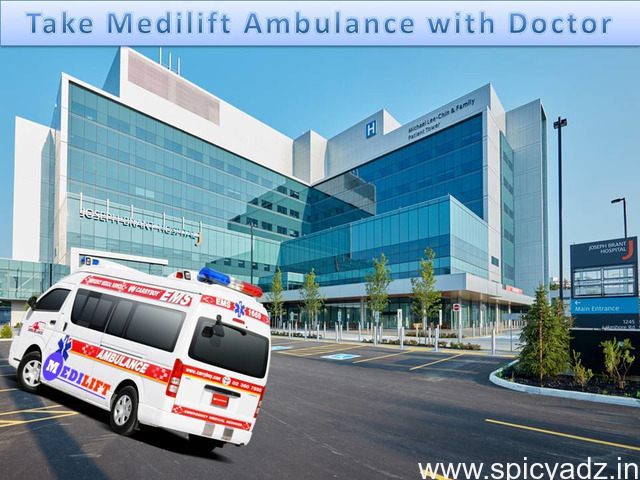 The Safest Patient Transfer by Medilift ICU Ambulance Service in Patna - 1