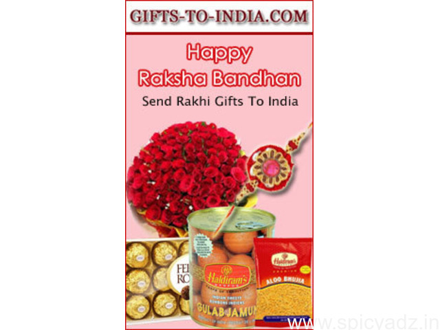 Surprise your Brother in India with amazing Rakhi online - 1