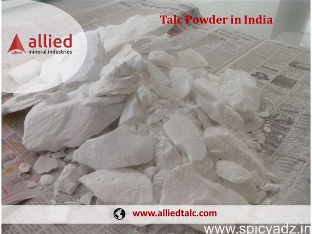 Manufacturer of Talc in India Allied Mineral Industries - 1