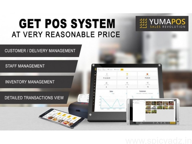 All In One POS System For Food Delivery, Takeaway - 1