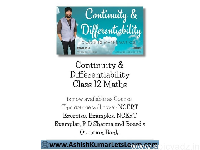 Continuity and Differentiability Class 12 Maths - 1