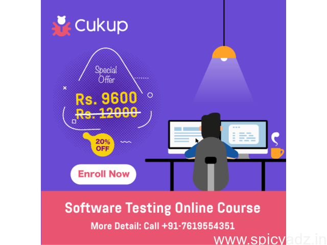 Software Testing Course - 100% Online - Easy & Effective - Only @ cukup.in - 1
