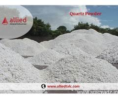 Supplier Exporter of Quartz Powder in India Allied Mineral Industry