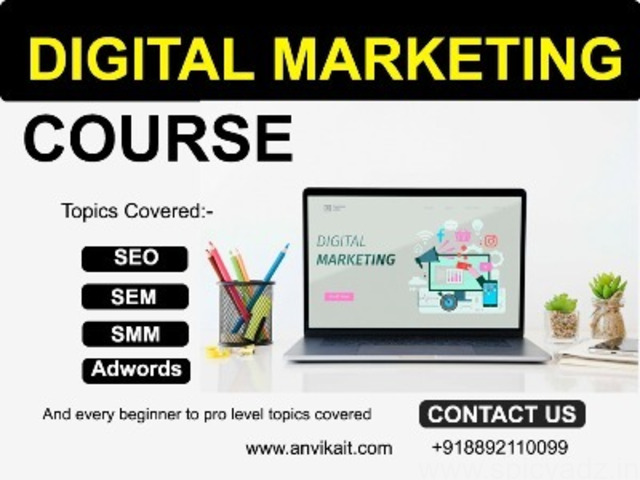 ital marketing Course with job 100% only 10 seats. - 1