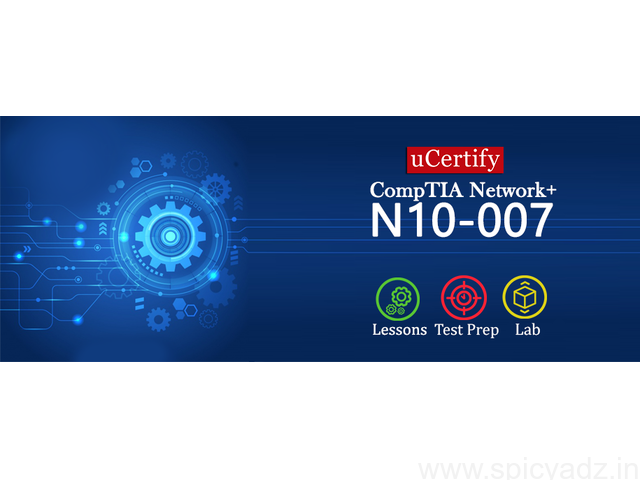 uCertify CompTIA Network+ N10-007 Course - 1