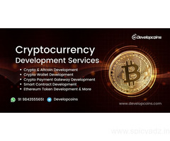 cryptocurrency Development Services India