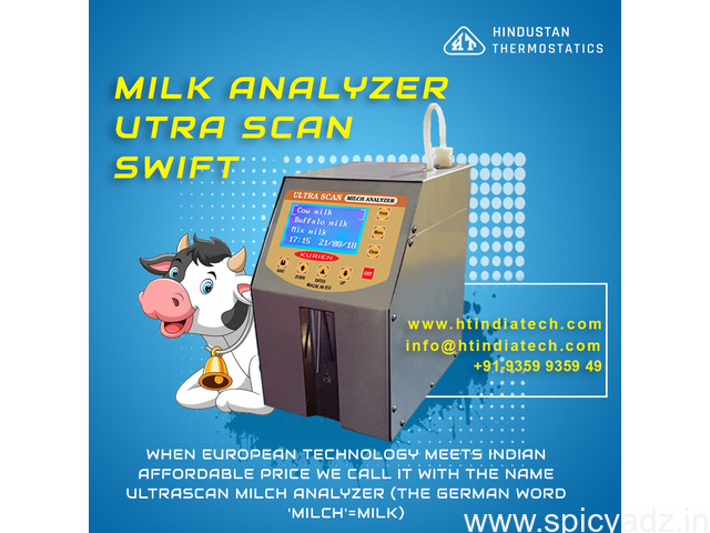 Why to Choose Ultra Scan Milk Analyzer Hindustan Thermostatics - 1
