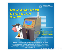 Why to Choose Ultra Scan Milk Analyzer Hindustan Thermostatics