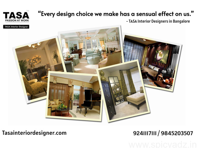 Interior Decorators in Bangalore - Tasainteriordesigner.com - 1