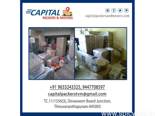Capital Packers and Movers Trivandrum  , House Shifting Trivandrum , Office Shifting Trivandrum - 1
