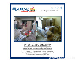 Capital Packers and Movers Trivandrum  , House Shifting Trivandrum , Office Shifting Trivandrum
