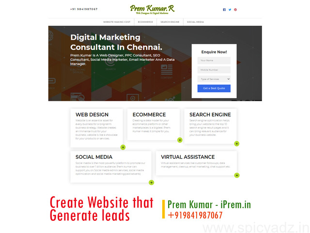 Create a responsive website and generate new customers for your business - 1