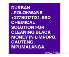 Trusted SSD Chemical Solution for Cleaning Black Money Notes +27788676511 in Limpopo and free state