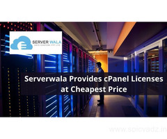 Serverwala Provides cPanel Licenses at Cheapest Price