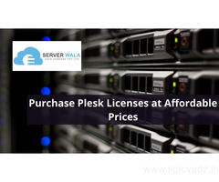 Purchase Plesk Licenses at Affordable Prices: Serverwala