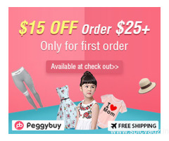 Peggybuy offers a lot of qualified kids and mom's apparel, toys, beauty, essentials, fashion women c