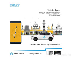 Cab Booking in Jodhpur Rajasthan at Best Prices