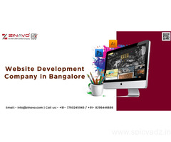 Website Development Company Zinavo