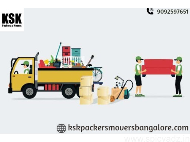 Packers And Movers In Bangalore - One Stop Moving Service-kskpackersmoversbangalore.com - 1