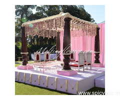 Outdoor wedding Decoration, Garden wedding Bangalore, Melting Flowers