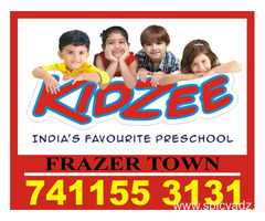 Kidzee Frazer Town | Nursery | 1164 | Admission started Now