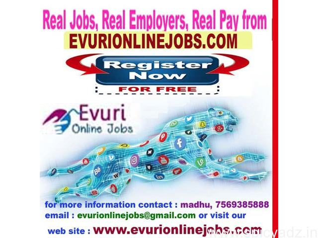 Online Jobs | Part Time Jobs | Home Based Online jobs | Data Entry  Jobs Without Investment. Full Ti - 1