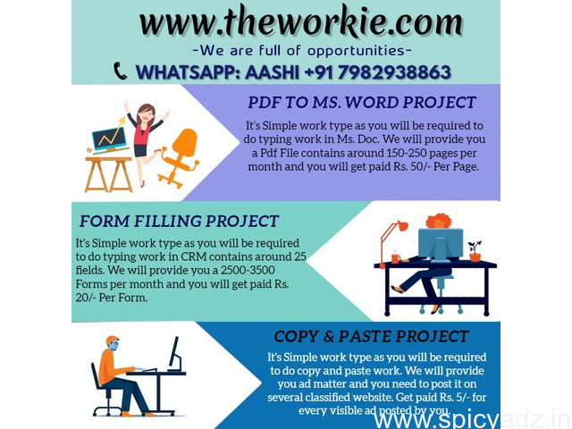 It's Income Platform for House Wife/Working/Fresher Who Want to Earn High Income At Home Base - 1