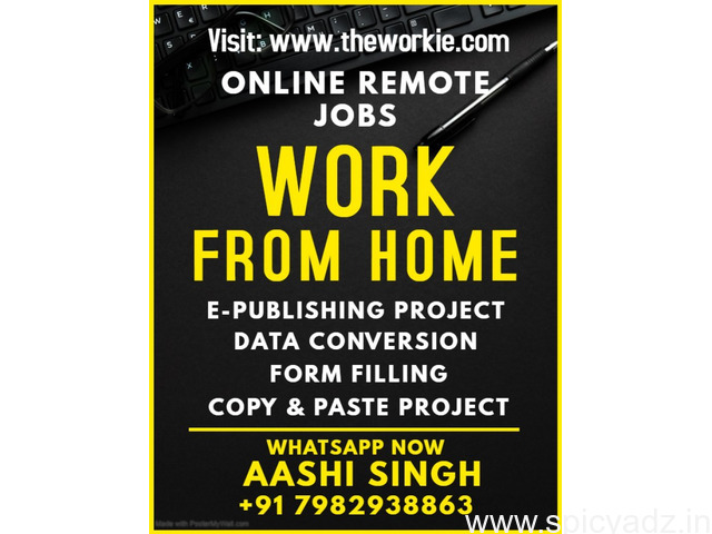 Best Opportunities to Work from Home - 1