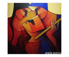 Buy Handpainted Contemporary Artwork At IndianArtZone